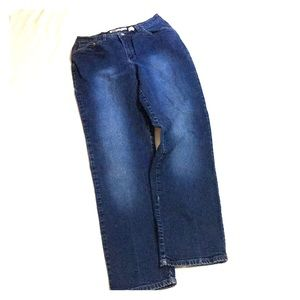 Vintage Faded Glory High Waist Stretch Jeans 12 T